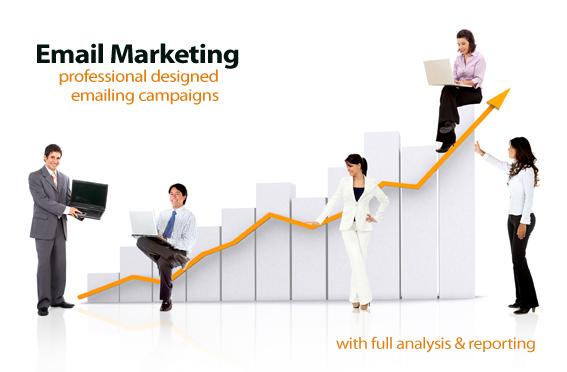 web bán hàng tặng email marketing