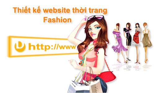 Thiết kế website thời trang sành điệu, thiết kế website thời trang